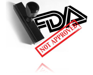 fda not approved